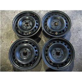 "Plechové-Ocelové-disky-bazar -  15"" VW,Skoda,Seat 5x112"