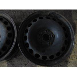 "Plechový-Ocelový-disk-bazar  -  16"" AUDI VW SEAT SKODA  5x112"