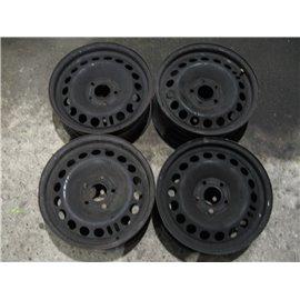 "Plechové-Ocelové-disky-bazar -  15"" OPEL ASTRA H, VECTRA C, SIGNUM, ZAFIRA B 5x110"