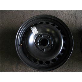 """Plechový-Ocelový-disk-bazar  -  15"""" 5x112 SKODA VW AUDI"""