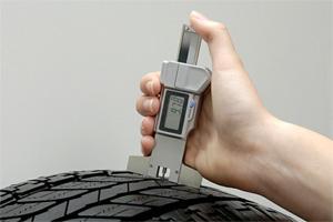 správná metodika měření vzorku pneu - pneubazar ULPNEU.CZ