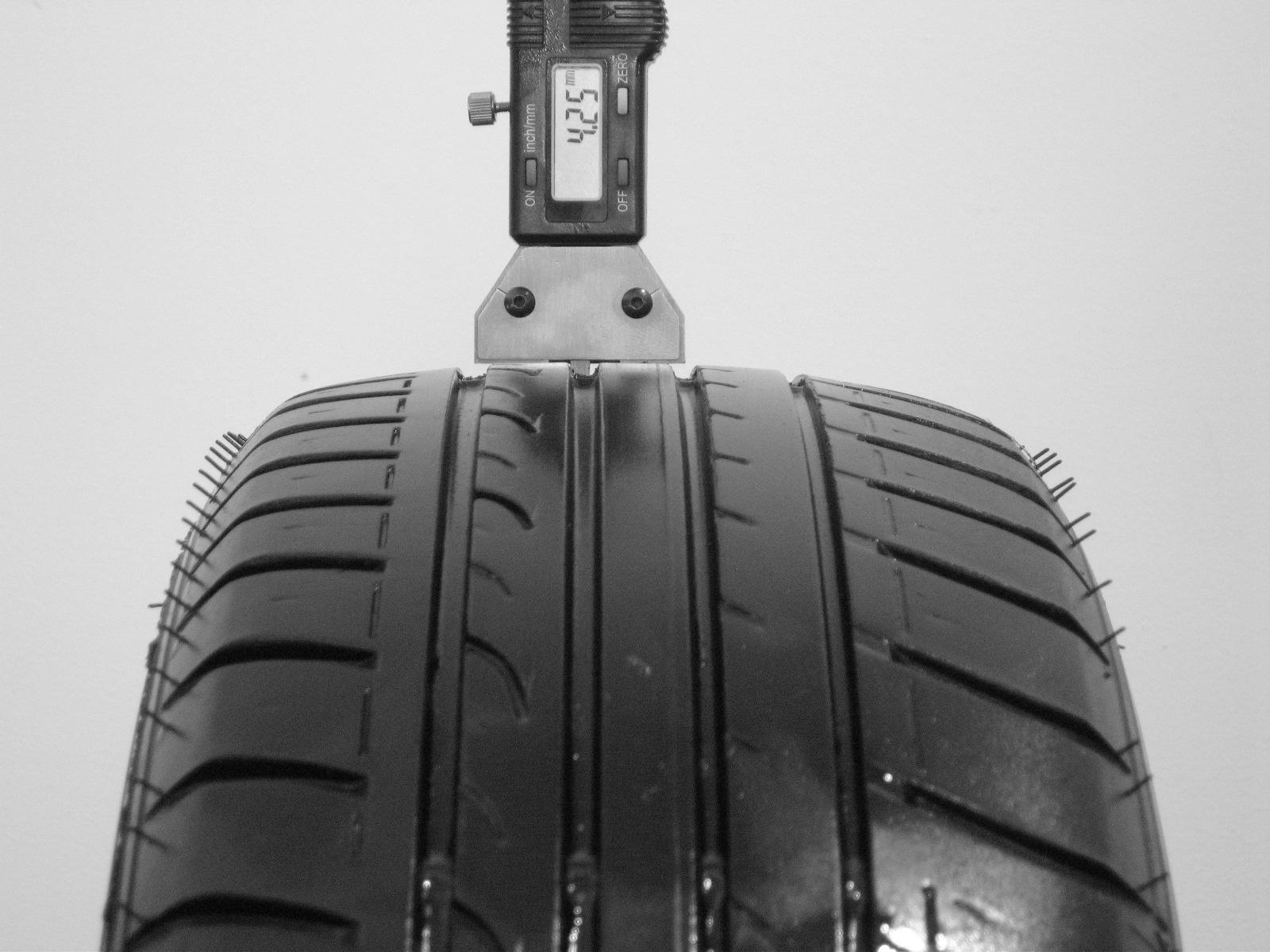 Použité-Pneu-Bazar - 185/65 R15 DUNLOP SP SPORT FASTRESPONSE -kusovka-rezerva 3mm