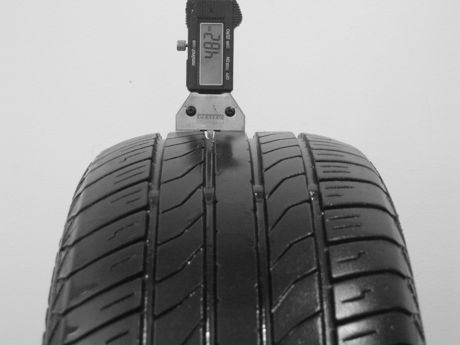Použité-Pneu-Bazar - 195/55 R15 CONTINENTAL SPORT CONTACT CV90 -kusovka-rezerva 3mm