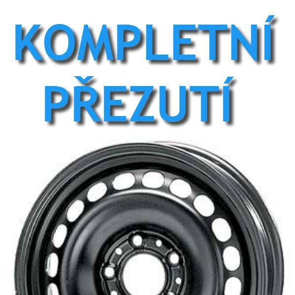 PNEUSERVIS - kompletní přezutí - Plechové disky | vaše pneu