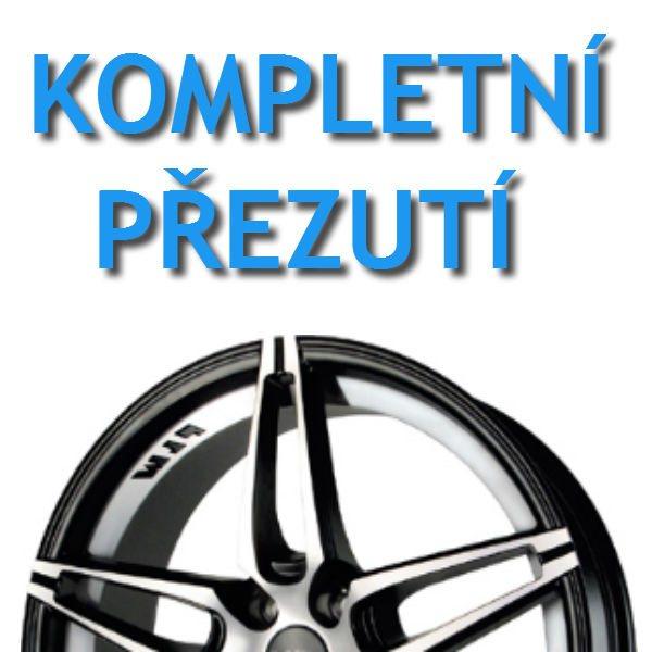 PNEUSERVIS - kompletní přezutí - Alu kola | vaše pneu
