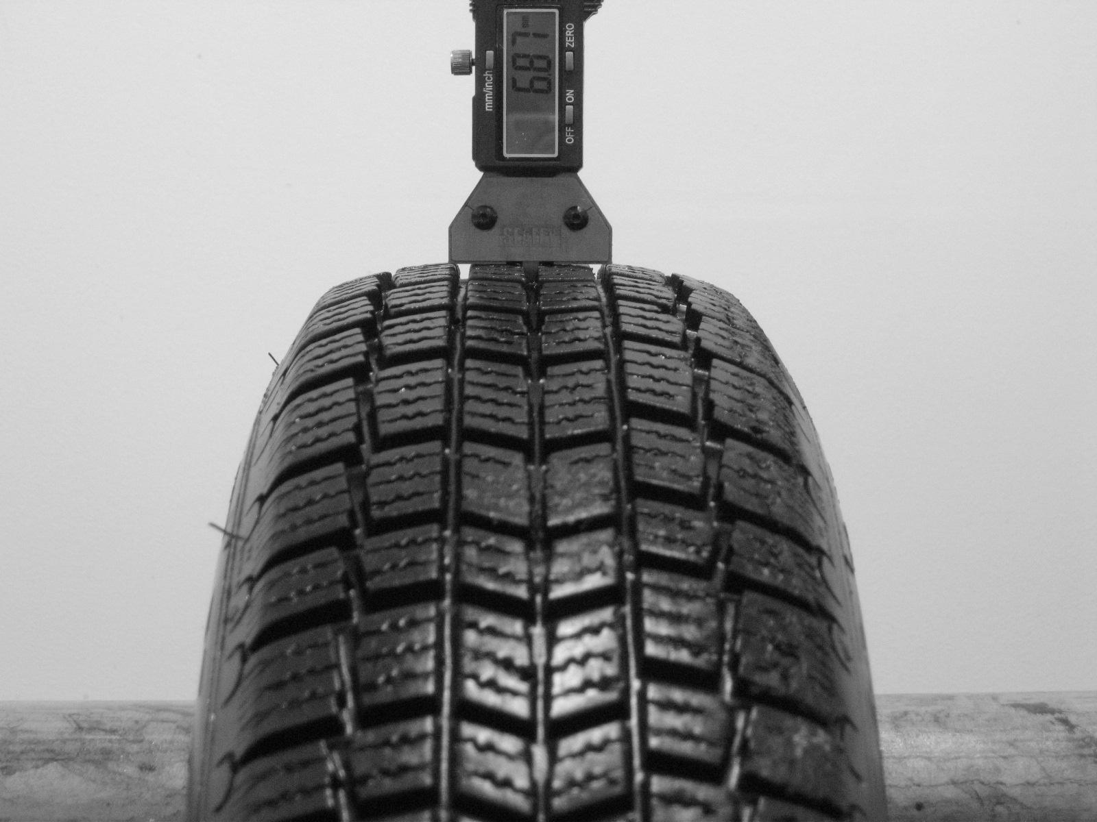 Použité-Pneu-Bazar - 155/80 R13 MICHELIN XM+S ALPIN -kusovka-rezerva 3mm