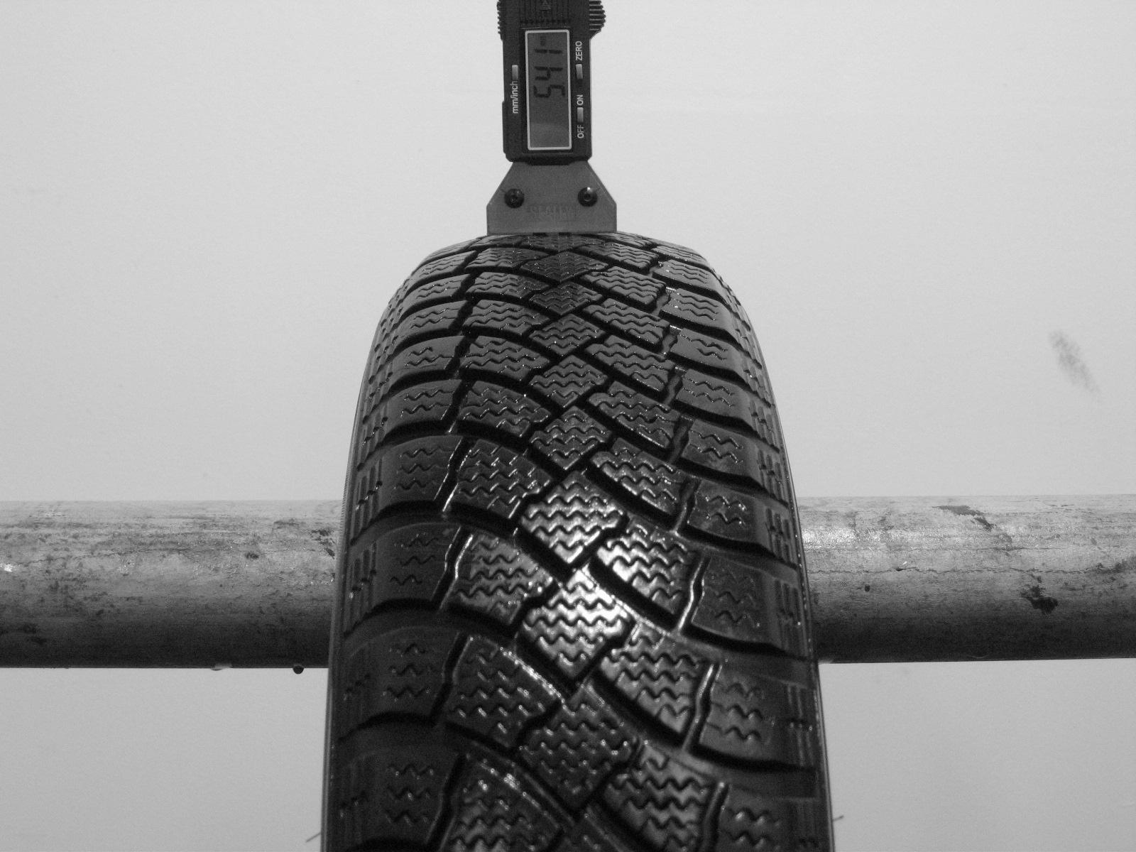 Použité-Pneu-Bazar - 135/70 R15 CONTINENTAL CONTIWINTERCONTACT TS760-kusovka-rezerva 3mm