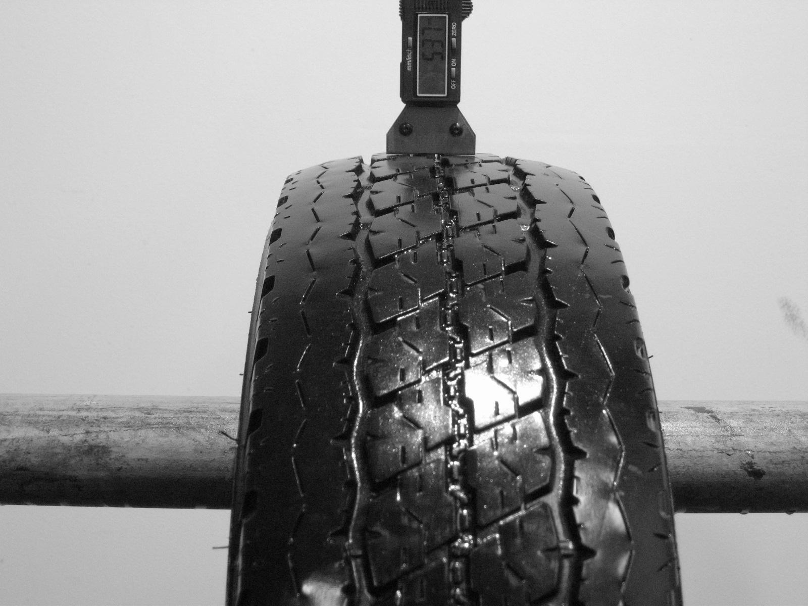 Použité-Pneu-Bazar - 175/75 R14 C BRIDGESTONE DURAVIS R630-kusovka-rezerva 3mm