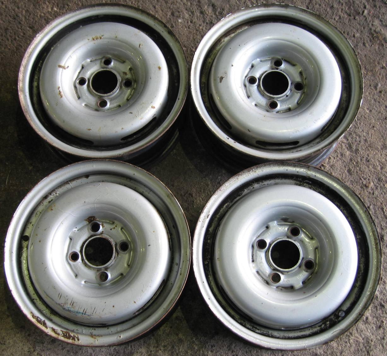 """Plechové-Ocelové-disky-bazar - 13"""" VW sada"""