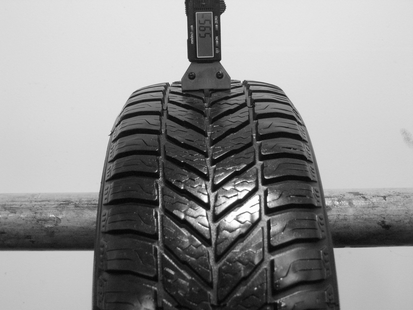 Použité-Pneu-Bazar - 185/60 R14 FULDA KRISTALL GRAVITO-kusovka-rezerva 3mm