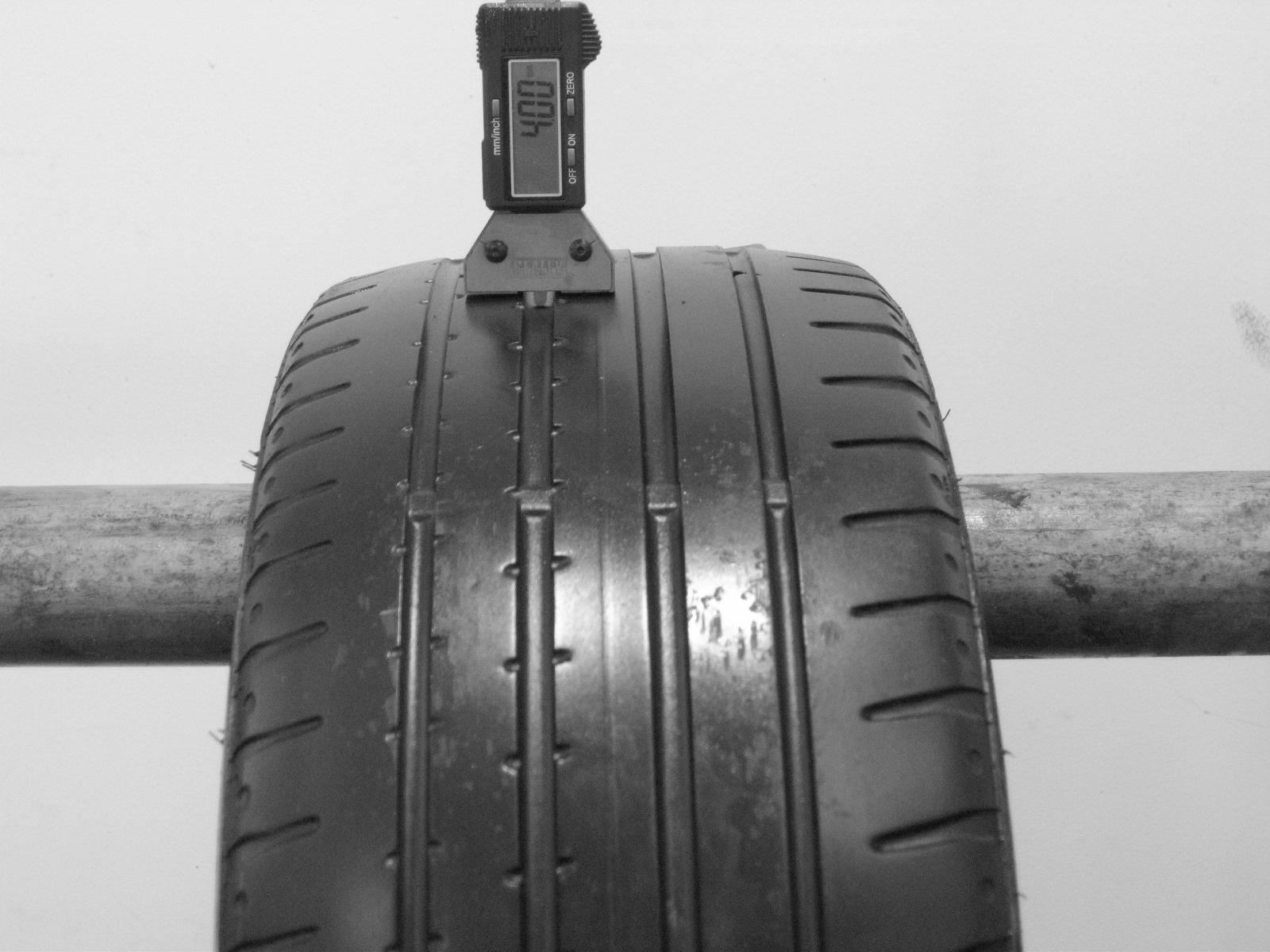 Použité-Pneu-Bazar - 195/40 R16 CONTINENTAL SPORTCONTACT 2 -kusovka-rezerva 3mm